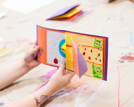 Pop Up and Flip: Bookmaking