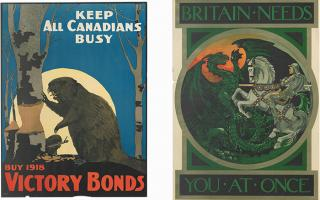 Collective remembrance propaganda posters